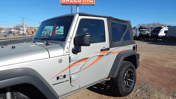 2007 Jeep Wrangler C-108 #2063