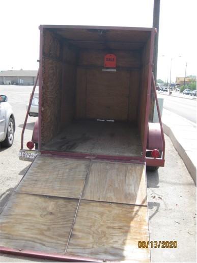 Enclosed Cargo Trailer 01