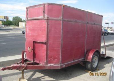 Enclosed Cargo Trailer 02