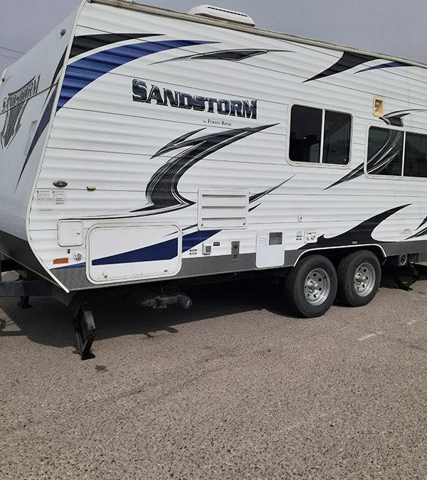 2013 Sandstorm Toy Hauler F19-084 #6454